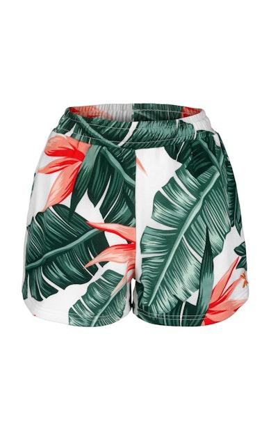 Onepiece Beverly Hills Womens shorts Blanc cassé
