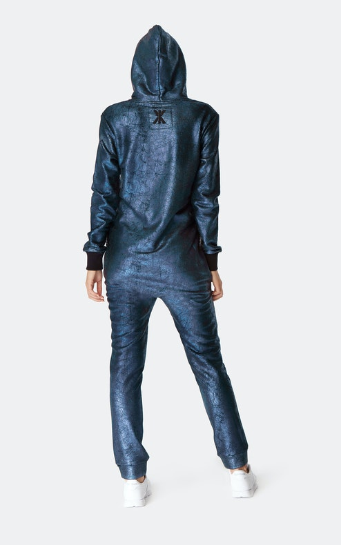 Onepiece Big Bang Jumpsuit Metallblau