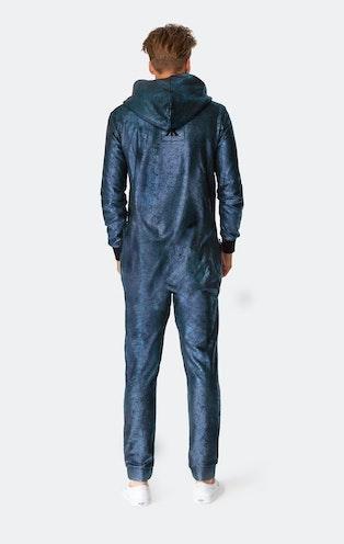Onepiece Big Bang Jumpsuit Metallic Blue