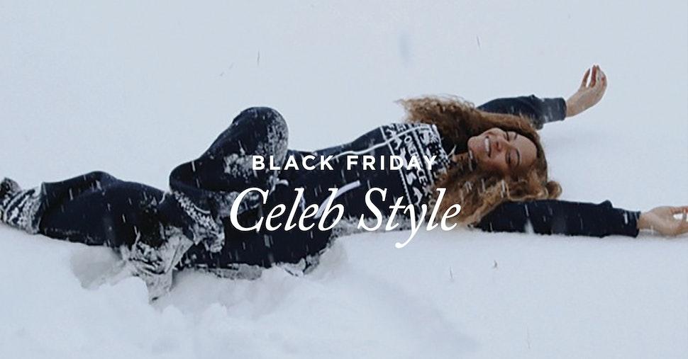 Black Friday: Celeb Style