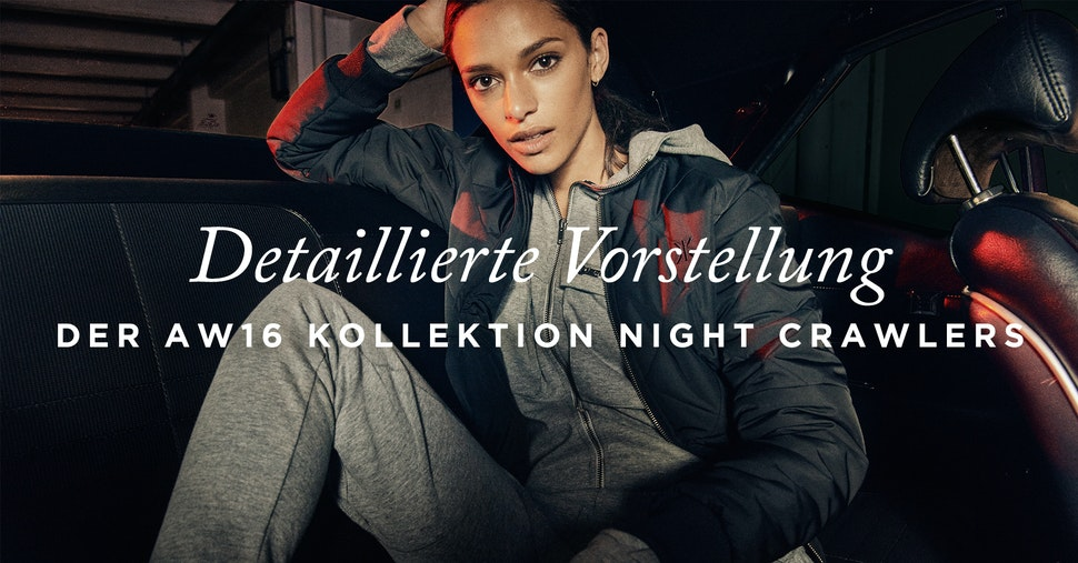 Neue Herbst Winter 2016 Kollektion Night Crawlers Onepiece