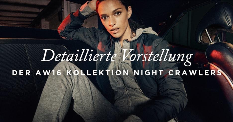 Neue Herbst Winter 2016 Kollektion Night Crawlers Onepiece