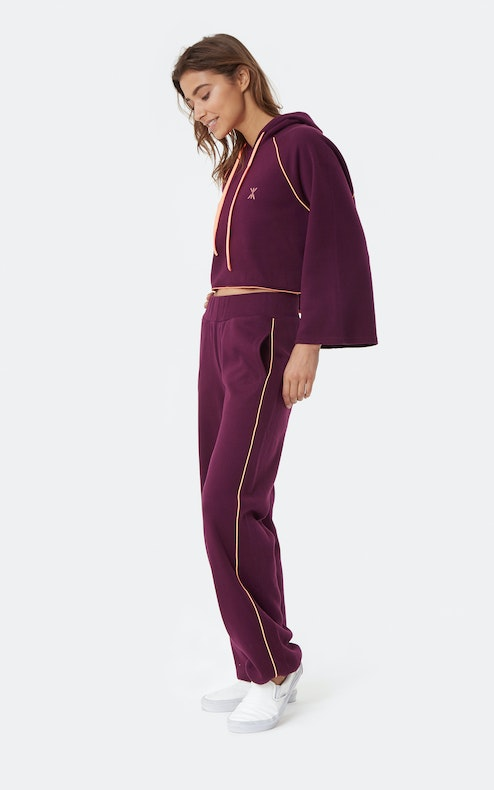 Onepiece Woke Up Like This Hoodie Dark Plum