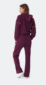 Onepiece Woke Up Like This Jumpsuit Dark Plum