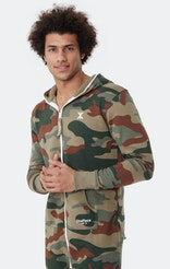 Onepiece Camouflage Jumpsuit