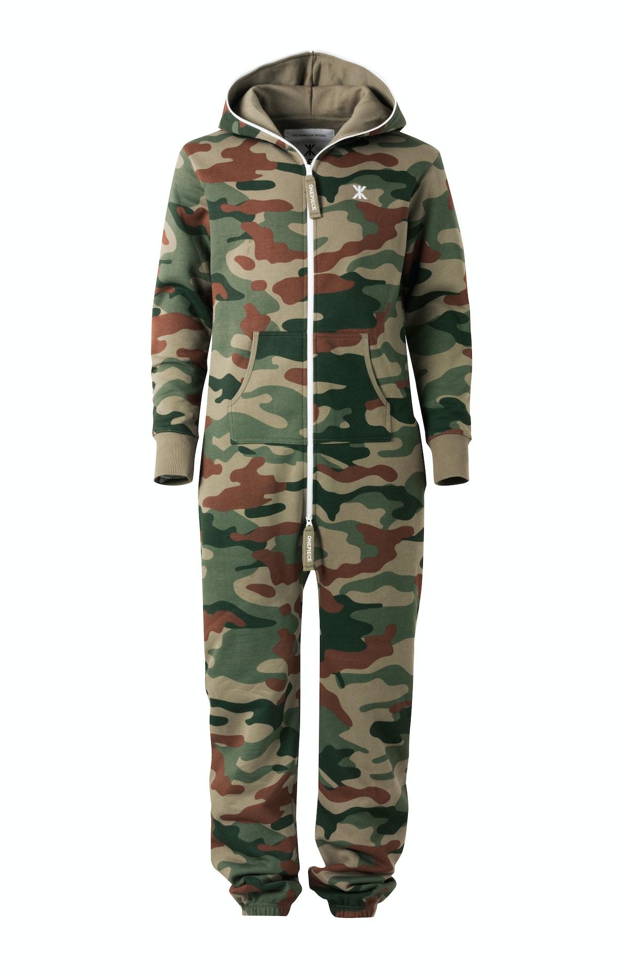 camouflage onesie combinaison jumpsuit onepiece fr. Black Bedroom Furniture Sets. Home Design Ideas