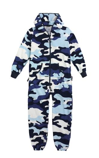9524c63b923 Onepiece Camouflage Kids Jumpsuit Snow White