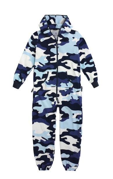 Onepiece Camouflage Kids Jumpsuit Grau Meliert