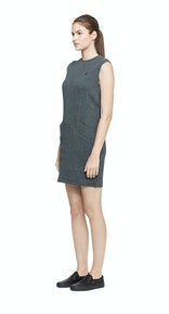 Onepiece Capacity Dress Dark Grey Melange