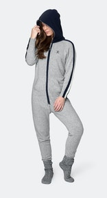 Onepiece Cashmere Jumpsuit Grey