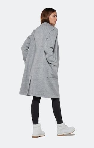 Onepiece Challenge Coat Grey Melange