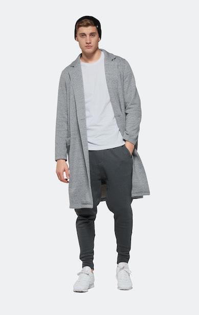 Onepiece Challenge Coat Grau Meliert
