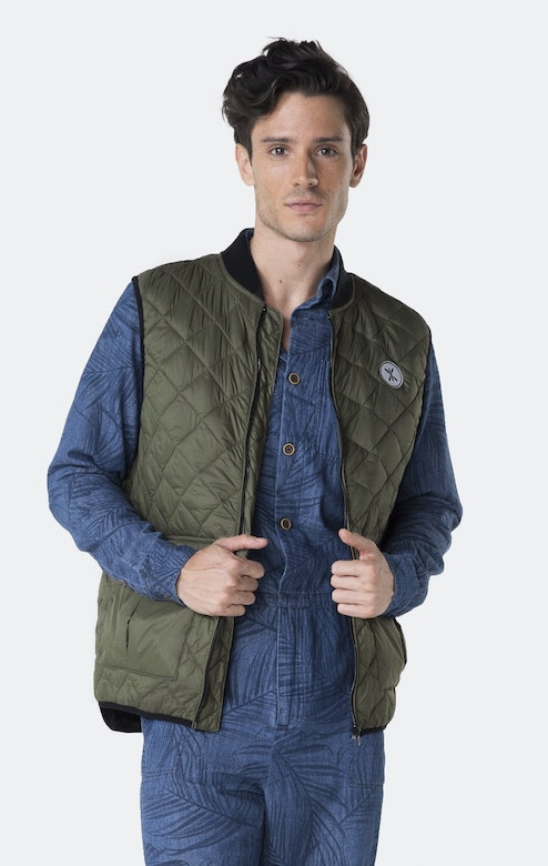 Onepiece Champ Vest Army