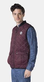 Onepiece Champ Vest Burgundy