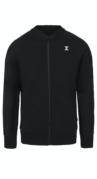 Onepiece Chill Sweat Bomber Cardigan Black