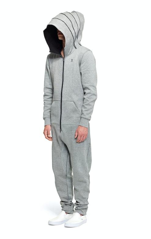 Onepiece Cocoon Jumpsuit Grey Melange