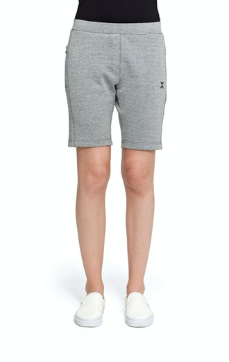 Onepiece Cocoon Shorts Grey Melange