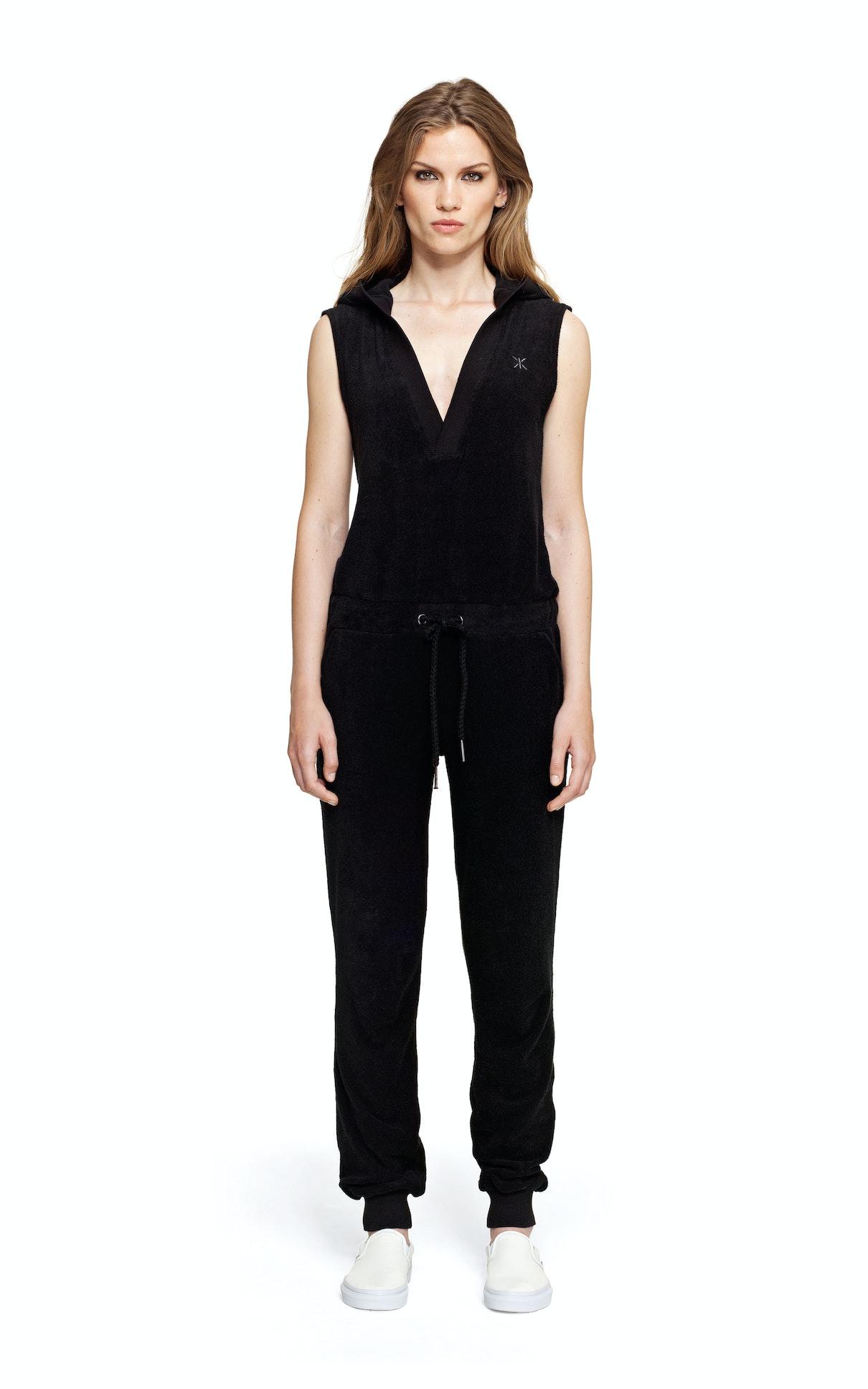 collected jumpsuit noir combinaison onepiece fr. Black Bedroom Furniture Sets. Home Design Ideas