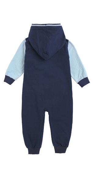 Onepiece College Baby Jumpsuit Midnight Blue / Light Blue
