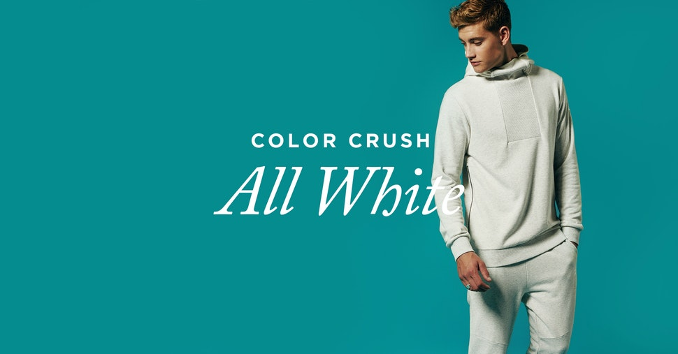 Color Crush: All White Everything