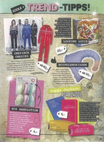Onepiece im Cool Jugendmagazin