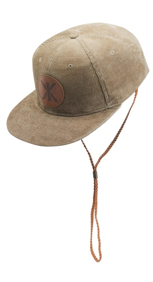 Onepiece Cord Cap Beige / With String