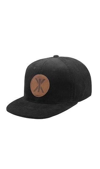 Onepiece Cord Cap Black
