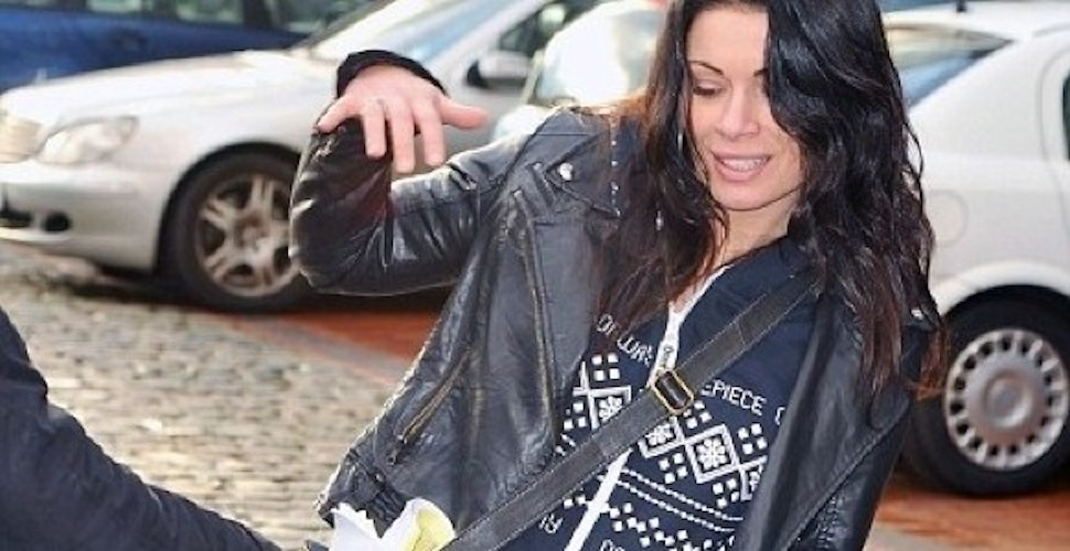 Corrie's Alison King in a Onepiece