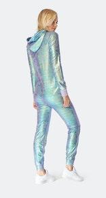 Onepiece Cosmic Slim Jumpsuit Purple