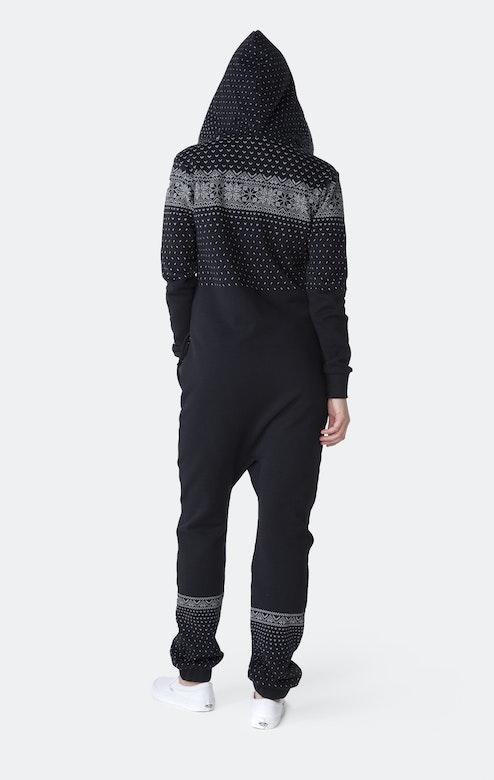 Onepiece Crystal Jumpsuit Black
