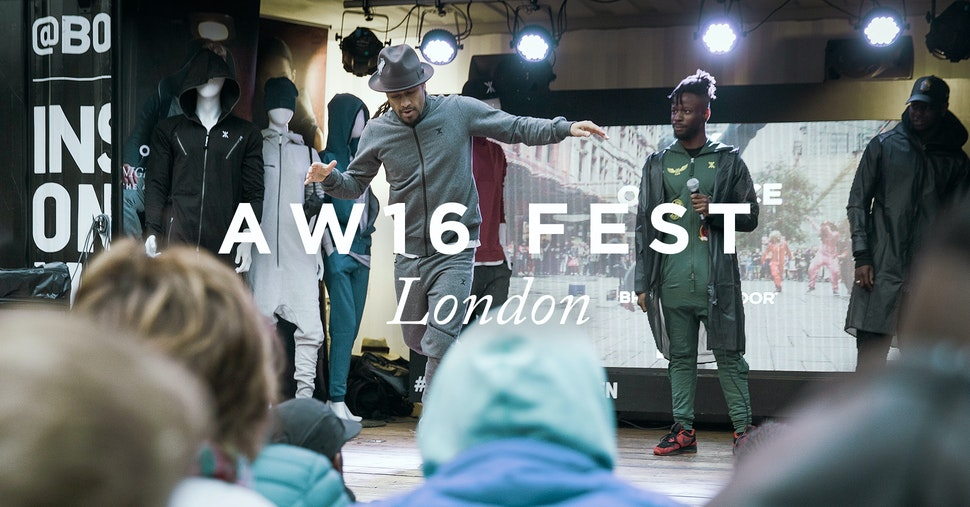 Onepiece AW16 Festival | LDN