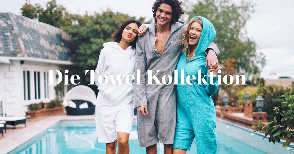 Towel Kollektion Onepiece Jumpsuit Onesie