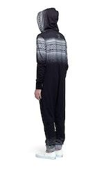 Onepiece Digital Jumpsuit Black
