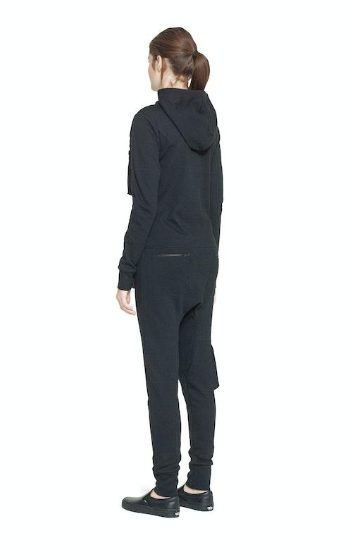 Onepiece Distance Jumpsuit Black