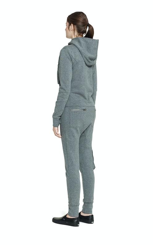 Onepiece Distance Jumpsuit Grey Melange