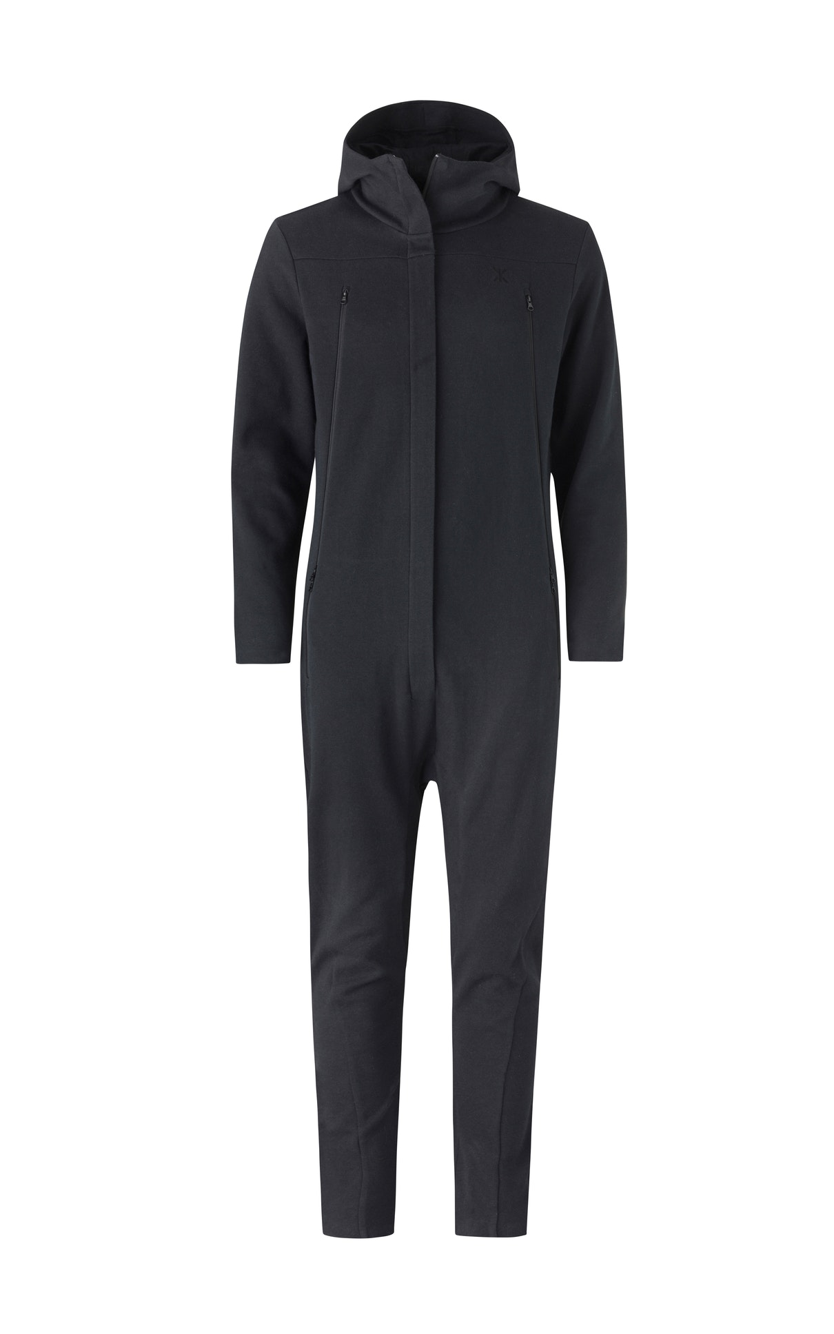Drift Jumpsuit Black A smarter, more fitted version of our classic styles. This jumpsuit in black features a hidden front zipper with magnetic fastening and ventilated hand pockets.
