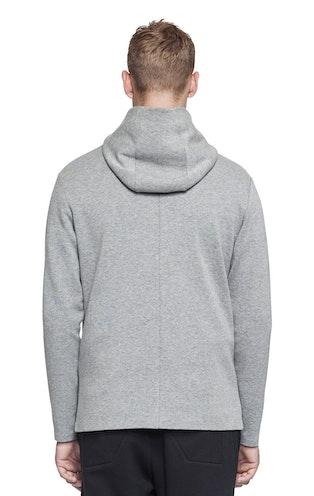 Onepiece Drift Zip Hoodie Grey Mel