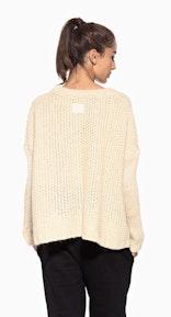 Onepiece Edge Sweater Vanilla Cream