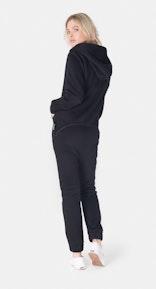 Onepiece Exit Jumpsuit Black