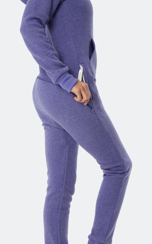 Onepiece Exit Jumpsuit Purple