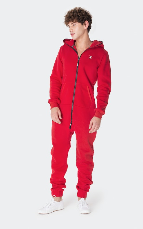 Onepiece Exit Jumpsuit Red