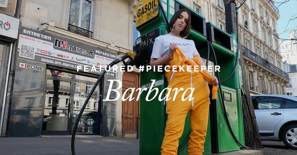 Featured #Piecekeeper: Barbara