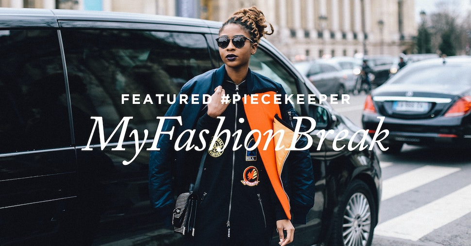 Featured #Piecekeeper: Myfashionbreak porte l'Aviator noir