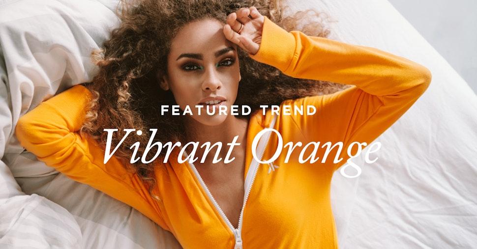 Featured Trend: Vibrant Orange