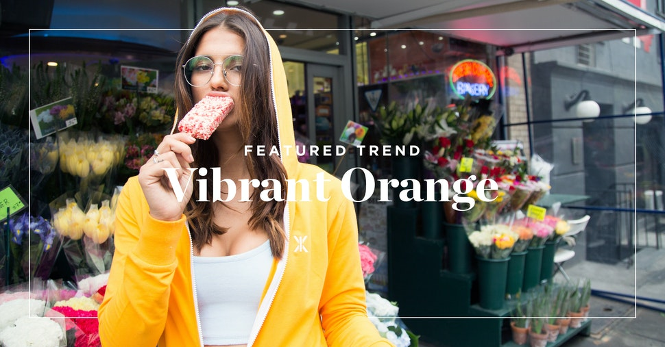 Featured Trend: Vibrant Orange