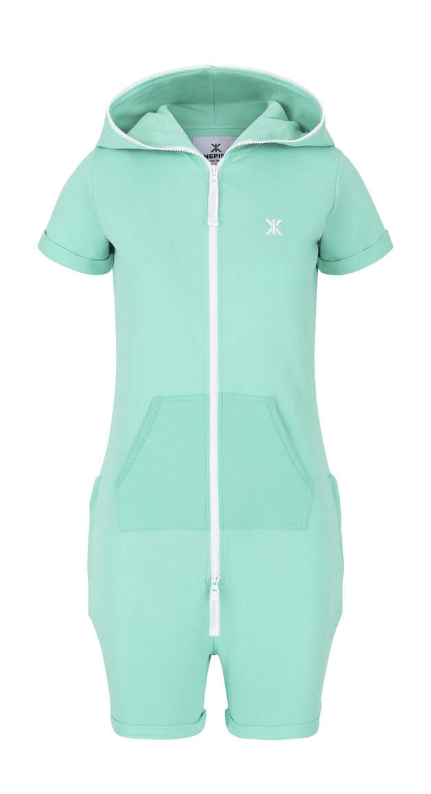 1e5b509b63 Fitted Short Jumpsuit Turquoise