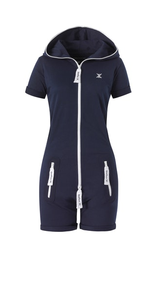 882de7eeab Onepiece Fitted Short Onesie Midnight Blue