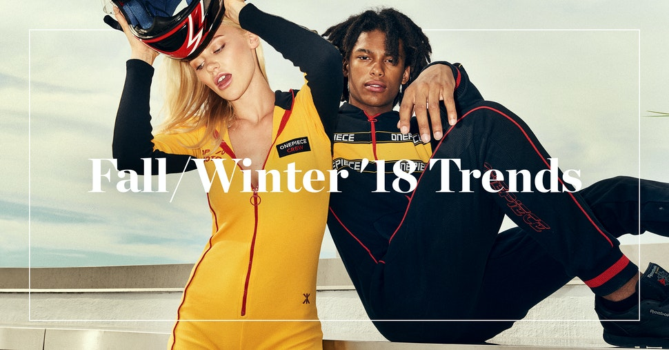 Five Fashion Trends for Autumn Winter 2018 by Onepiece
