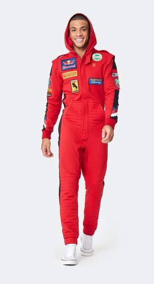 Onepiece The Racing Jumpsuit Red