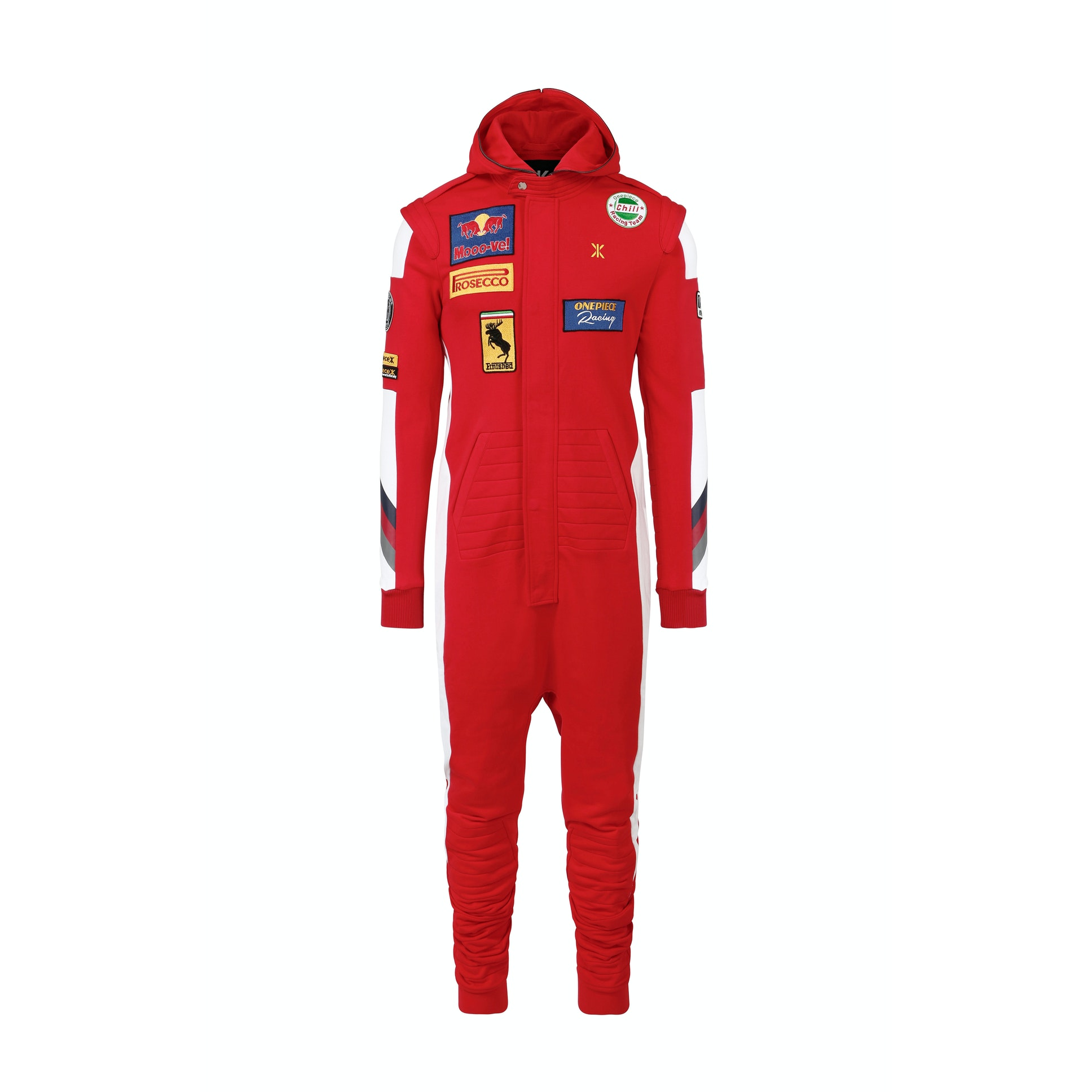 formula onepiece jumpsuit red